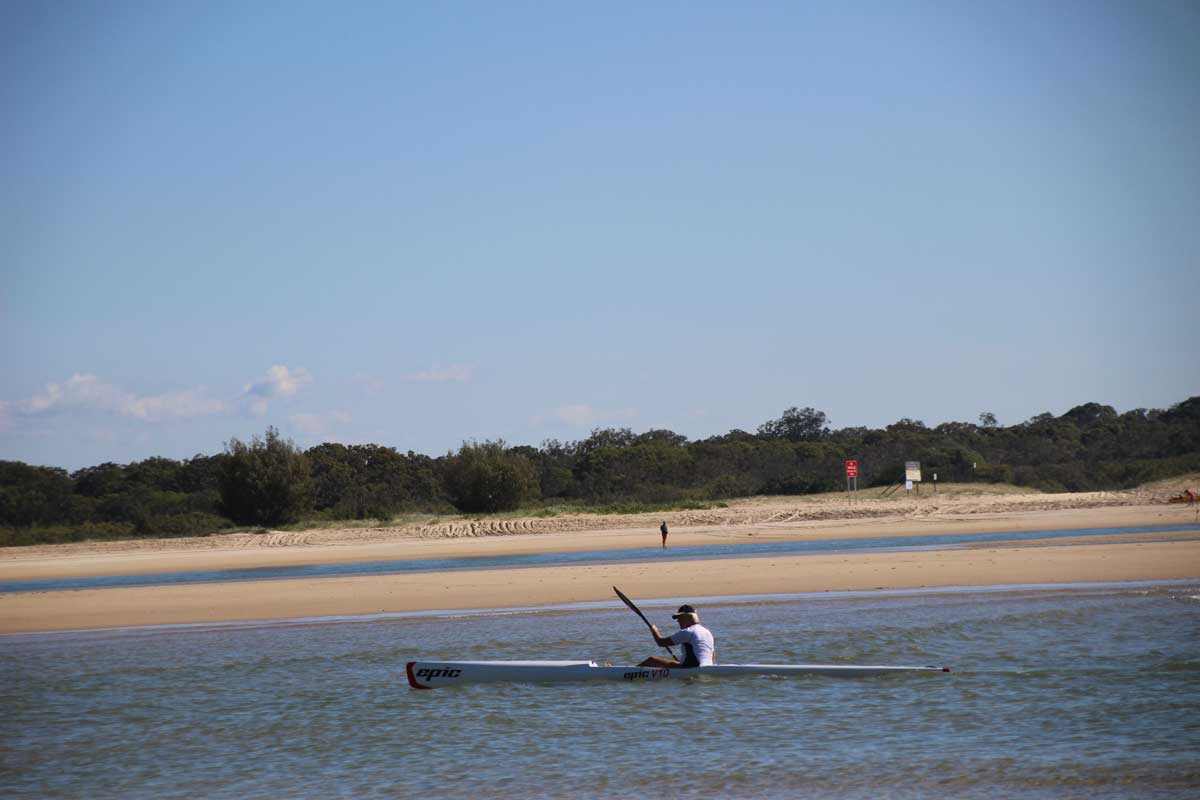 kayak Noosa Australie