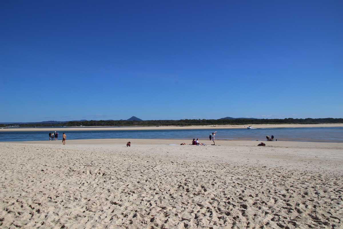 sable plage Noosa Australie