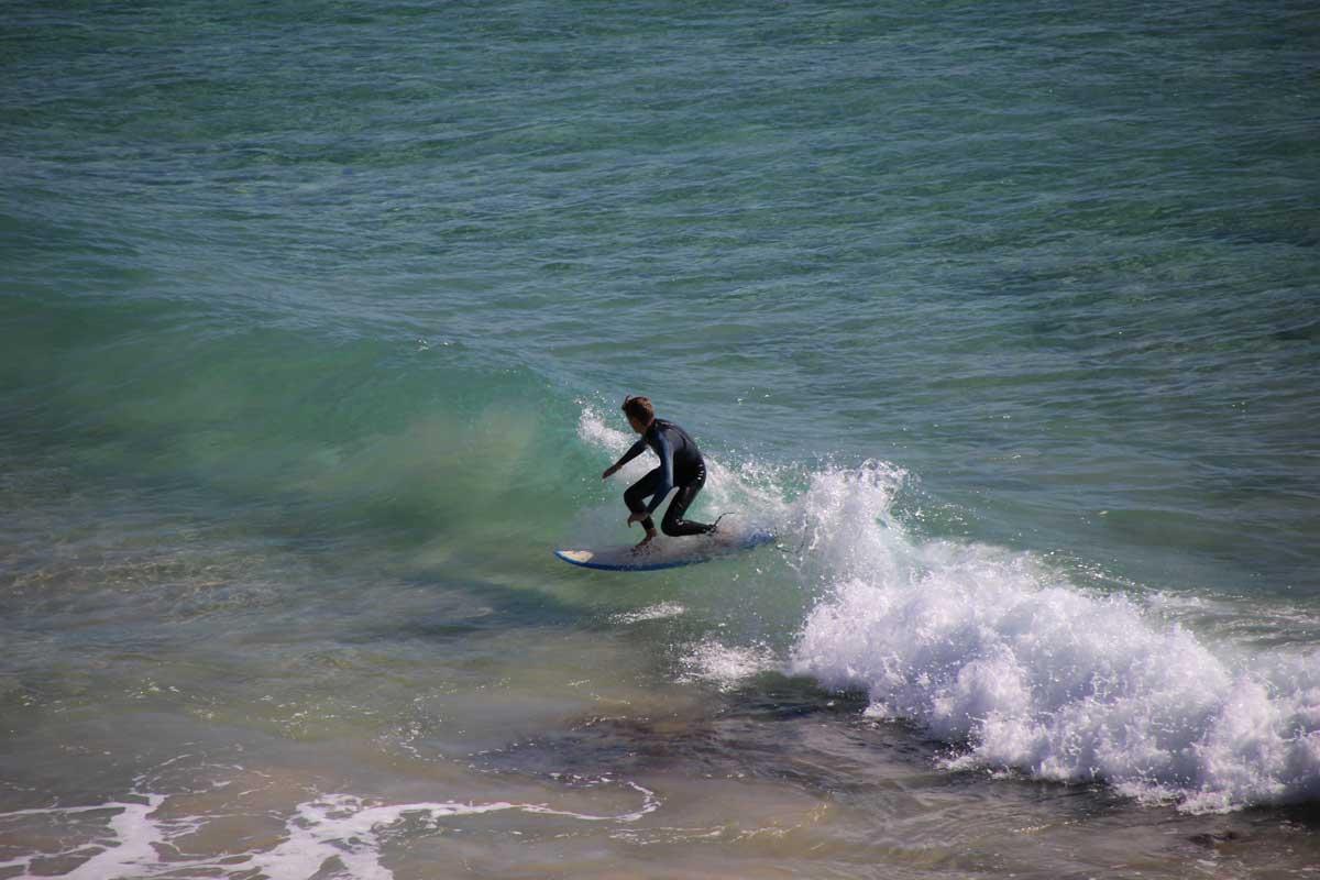 surfeur Noosa Australie