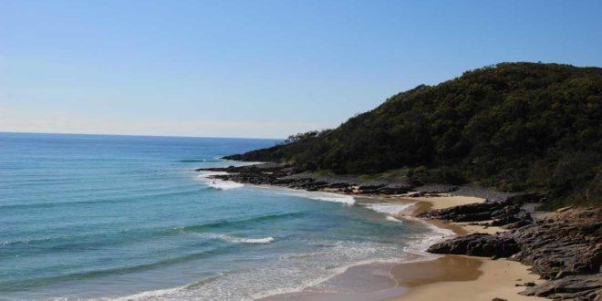 vue plage Noosa Australie
