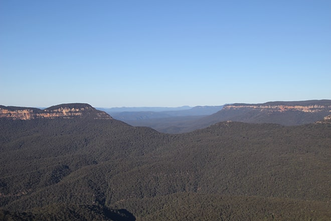 Blue Mountains - Vue