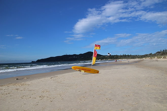 Plage Byron Bay Australie