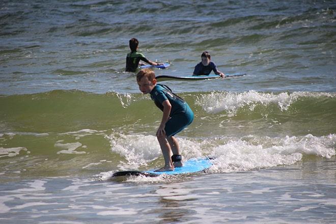 Surfeurs Byron Bay