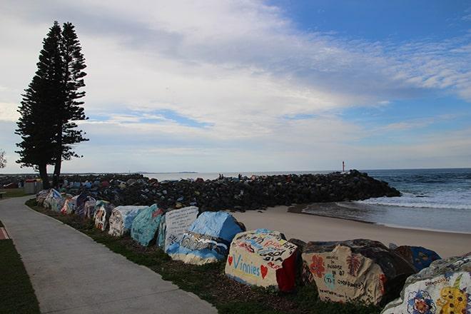 plage Town Beach Port Macquarie Australie