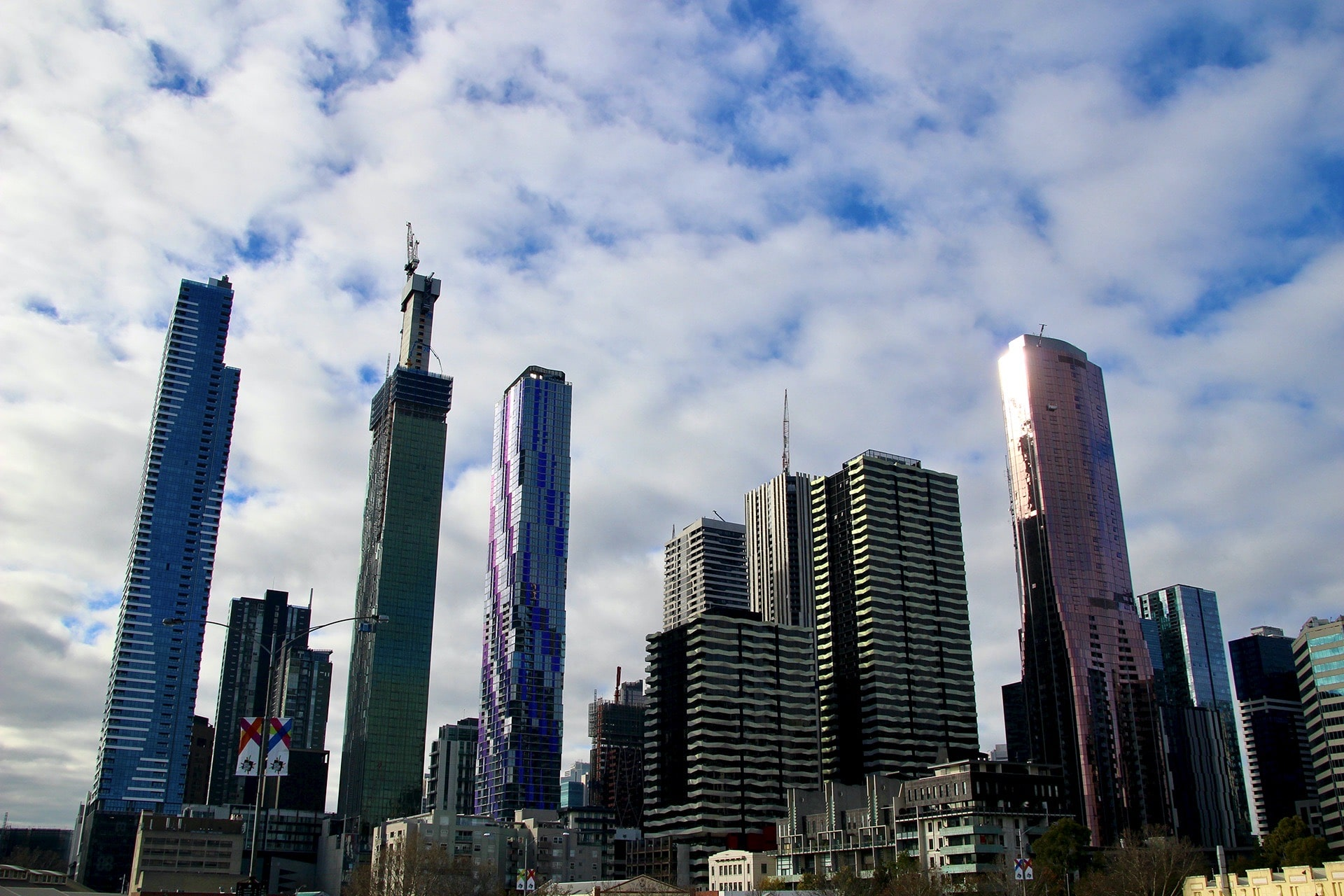 Buildings de Melbourne Australie