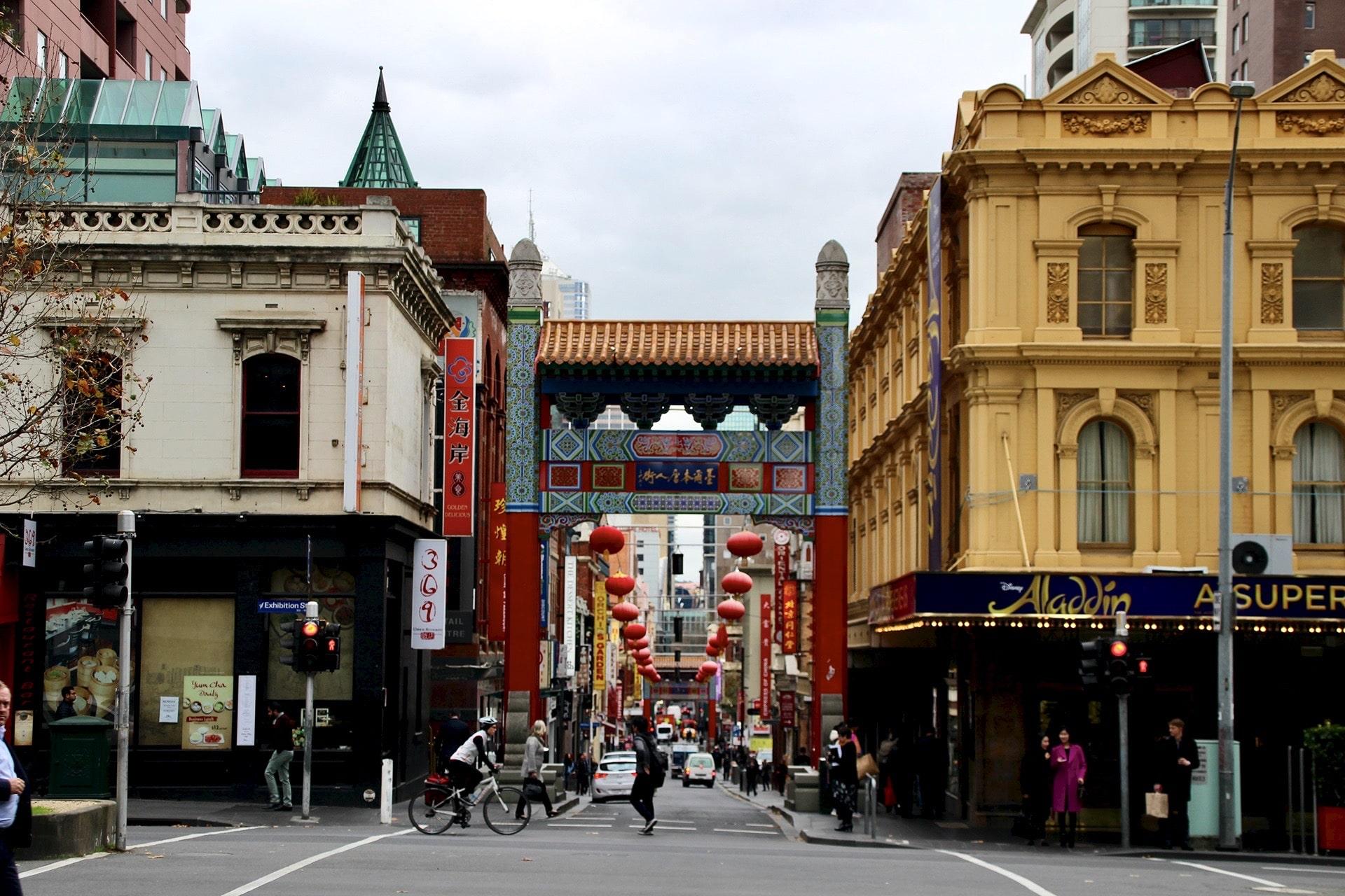 Chinatown Melbourne porte