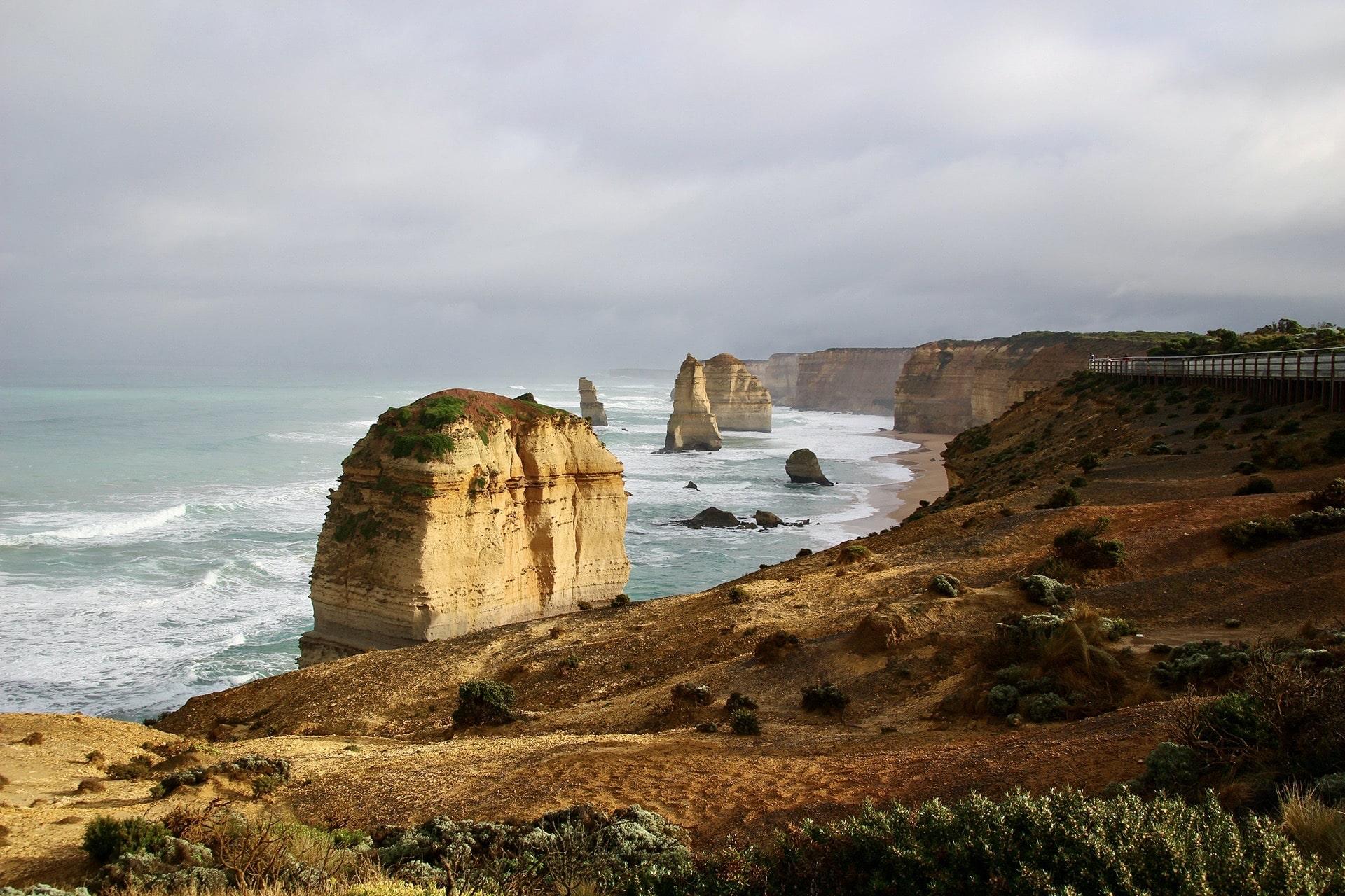 Détail 12 Apôtres Great Ocean Road Australie