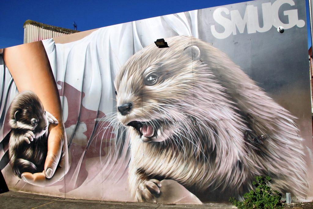 Fitzroy Street Art marmotte