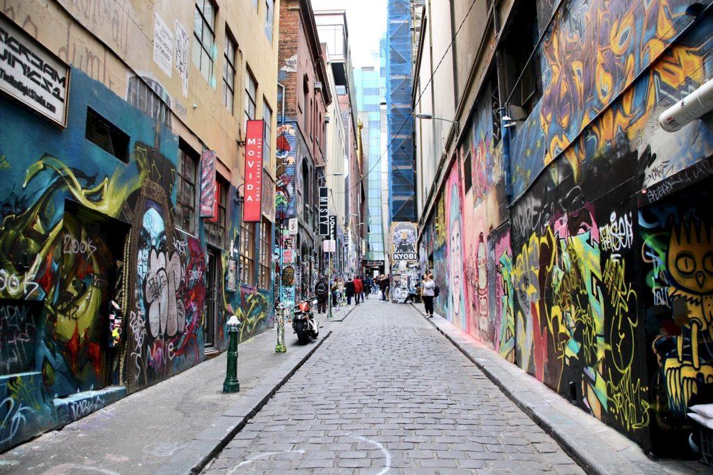 Rue Street Art Melbourne Australie