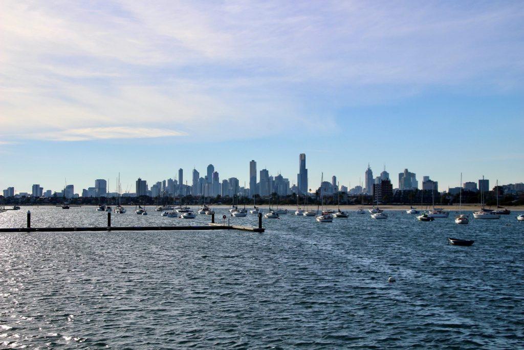 Skyline Melbourne de jour