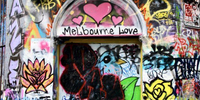 Street Art Melbourne Australie