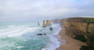 Vue 12 Apôtres Great Ocean Road Australie