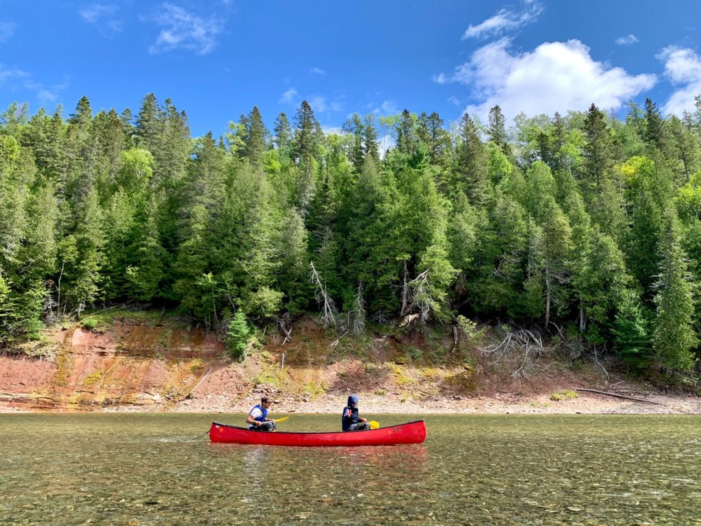 Canot Rivière Bonaventure - Gaspésie
