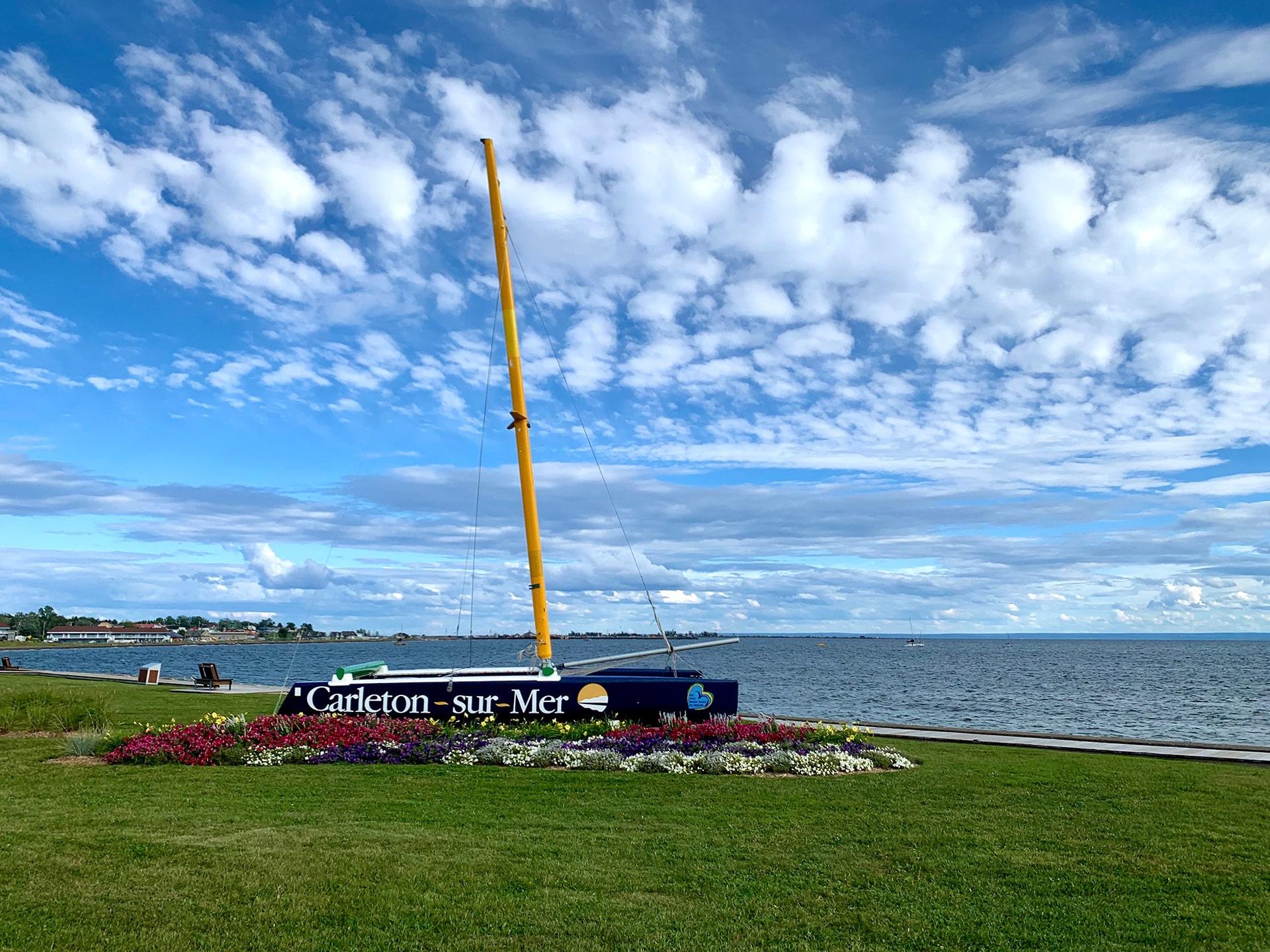 Carleton sur Mer - Bateau
