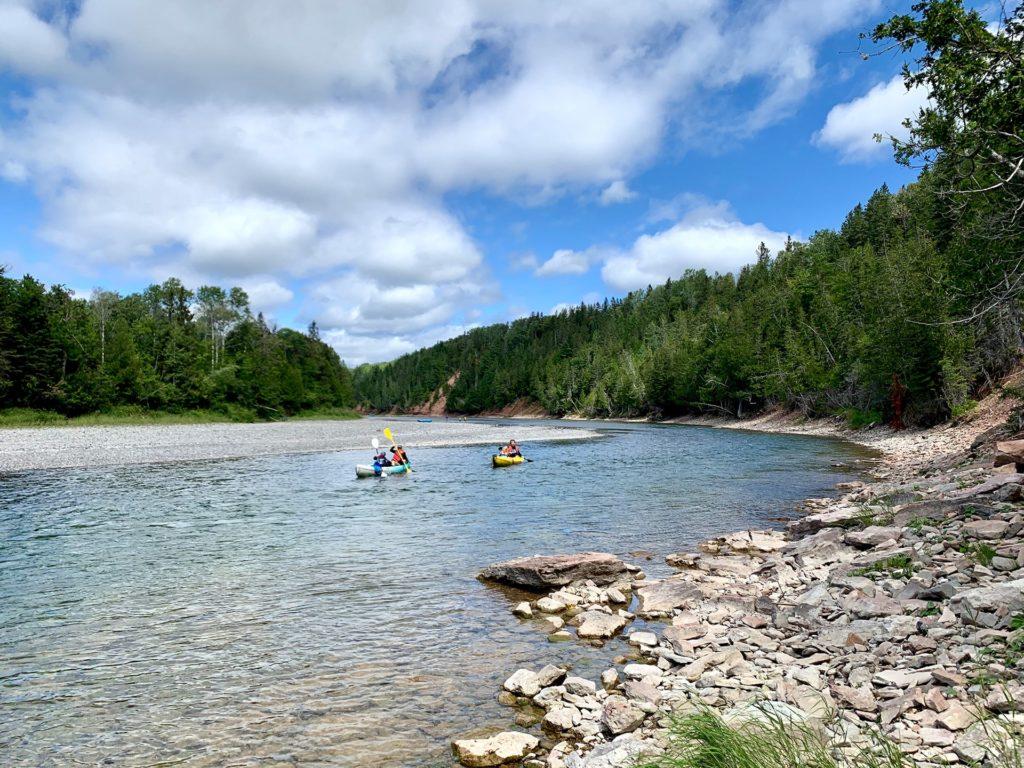 Descente Rivière Bonaventure - Gaspésie