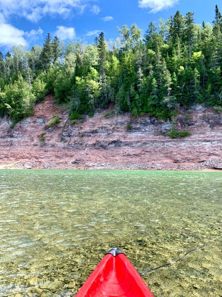 Kayak Rivière Bonaventure - Canada Gaspésie