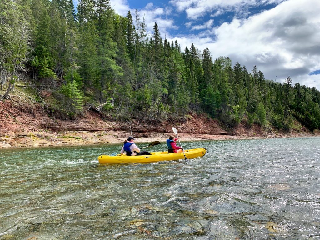 Kayak double Rivière Bonaventure - Canada