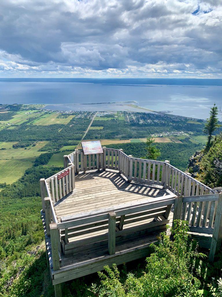Plateforme Mont St Albert - Gaspésie