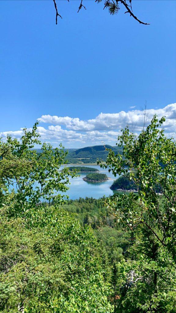 Québec - Parc du Bic vue