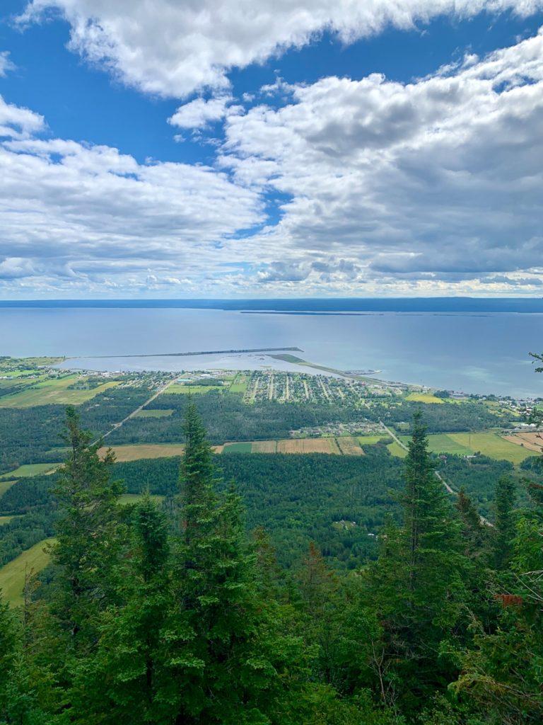 Vue Mont St Albert - Gaspésie