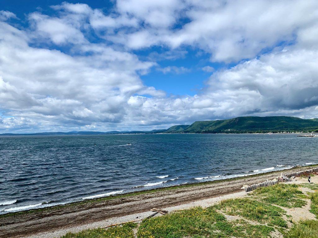 Vue baie de Carleton sur Mer