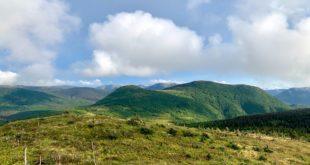 panorama Mont Ernest Lafornece - Parc de la Gaspésie