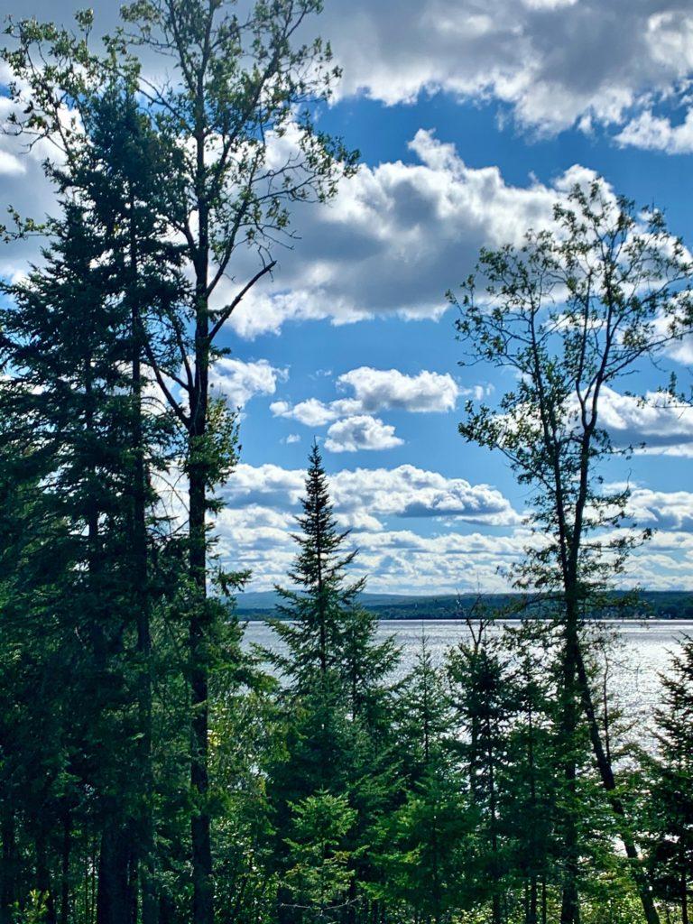 vue Lac Témiscouata Québec
