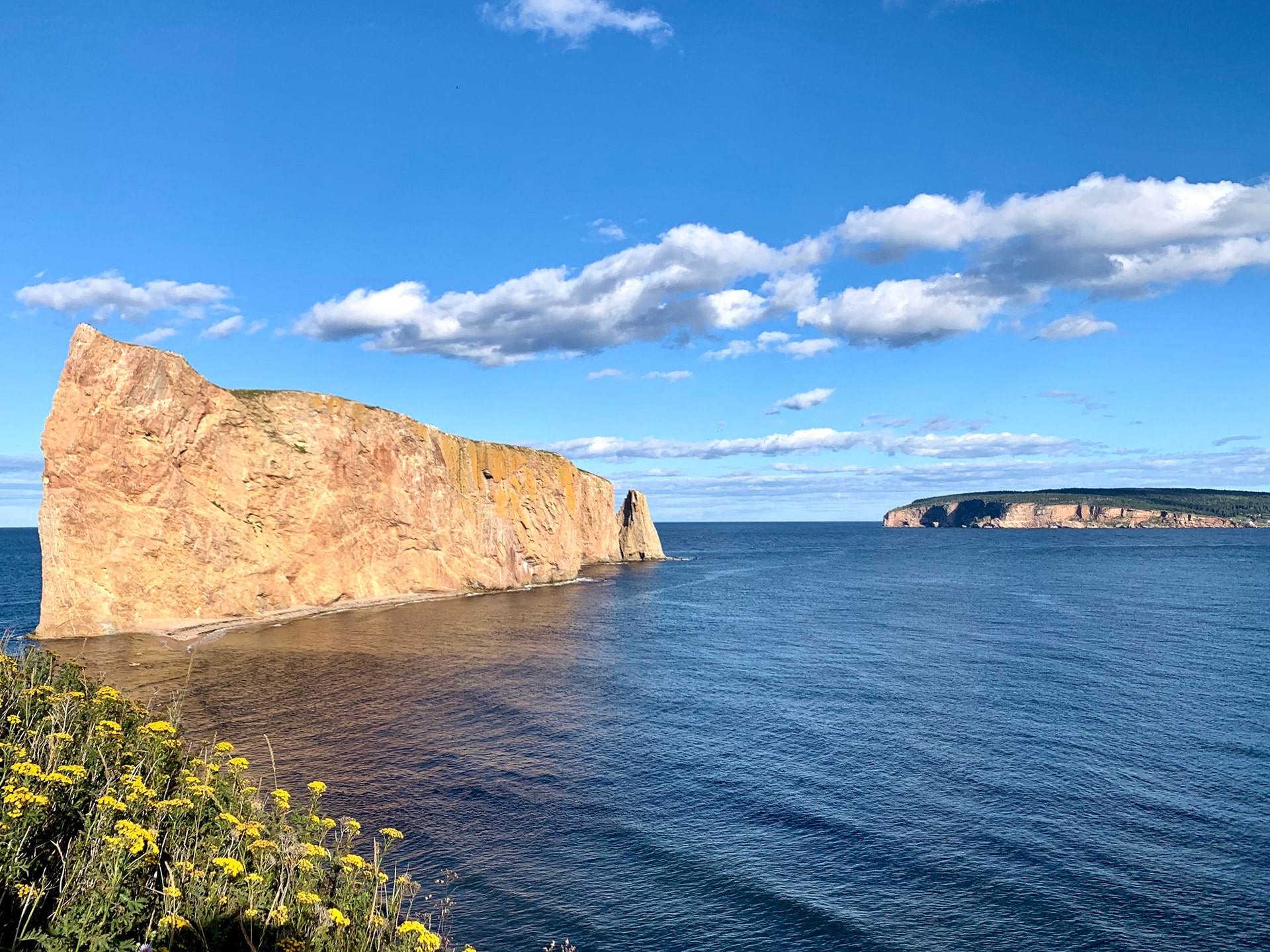 vue rocher percé - Québec